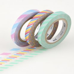 masking tape mt 6 mm slim set de 3  twist cord a