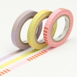 masking tape mt 6 mm slim set de 3  deco a