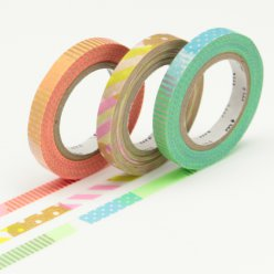 masking tape mt 6 mm slim set de 3  deco e