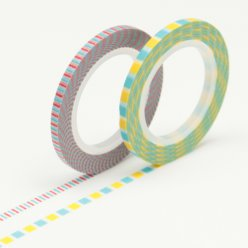masking tape mt 3 mm slim set de deco rayee d