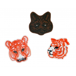 patch brode felin 4 a 5 cm x 3 pcs