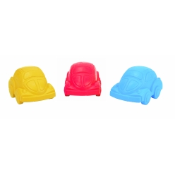 crayon de cire voiture couleurs assorties x 3 pcs