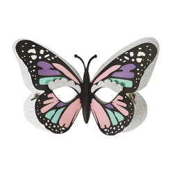 masque 3d en carte forte papillon a monter