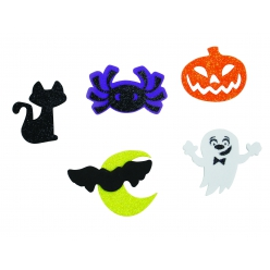 sticker halloween mousse 35 a 4 cm x 50 pcs