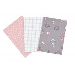 mini carnet 30 pages 105 x 75 cm 3 pieces