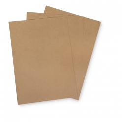 carte 210x297mm kraft 5 pieces