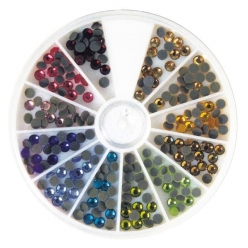sets de pierres strass hotfix 4 mm 240 pieces
