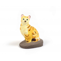 moule en latex chat