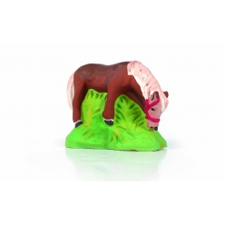 moule en latex poney