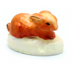 moule en latex lapin