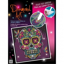 tableau sequin art strass et diamants catrina