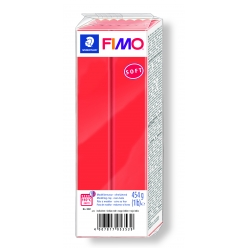 pate fimo 454 g soft rouge indien 802124
