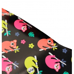papier cadeau fluo jungle 2 x 070m