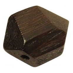 Rayher 6110400 Lot de 100 perles en bois brut 8 mm
