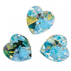 swarovski coeur cristal 144x14 mm 3 pieces