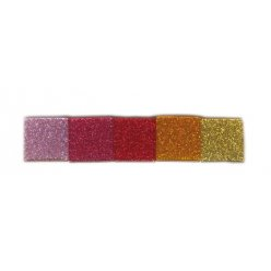 assortiment de mosaique acrylique pailletee sparcle princess 10x10mm150g