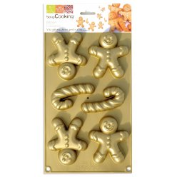 moule en silicone gingerbread man