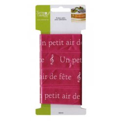 ruban satin pour patisserie un petit air de fete