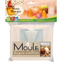 moule a bougie cone h 80 mm
