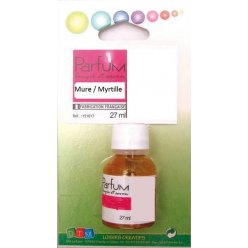 parfum a bougie 27 ml mure myrtille