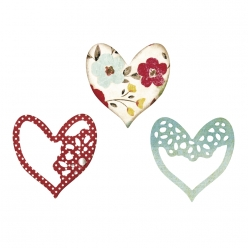 thinlits die set 3pk  alluring hearts by scrappy cat
