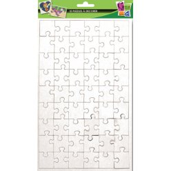 puzzles de 54 pieces a decorer 24x16 cm 10 pieces