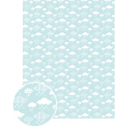 papier patch gluepatch nuage