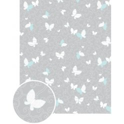 papier patch gluepatch papillon