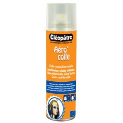 colle spray aero colle repositionnable 250 ml