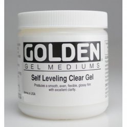 self leveling clear gel 378 l