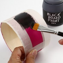 peinture ardoise sur support en bois