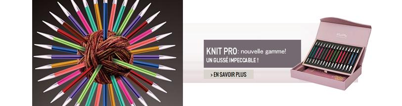 nouvelle gamme knit pro