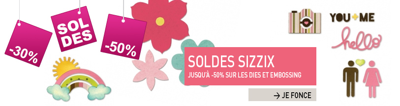 soldes sizzix