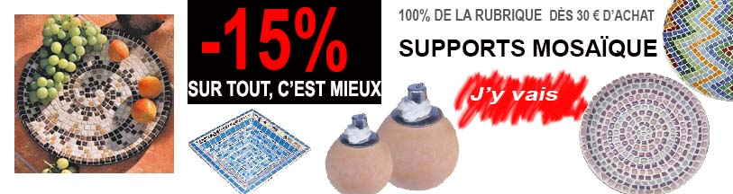 support smosaique