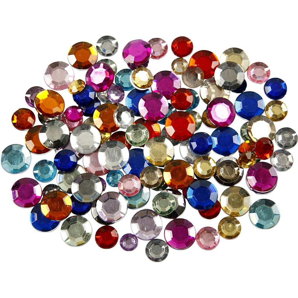 Cabochons, strass…