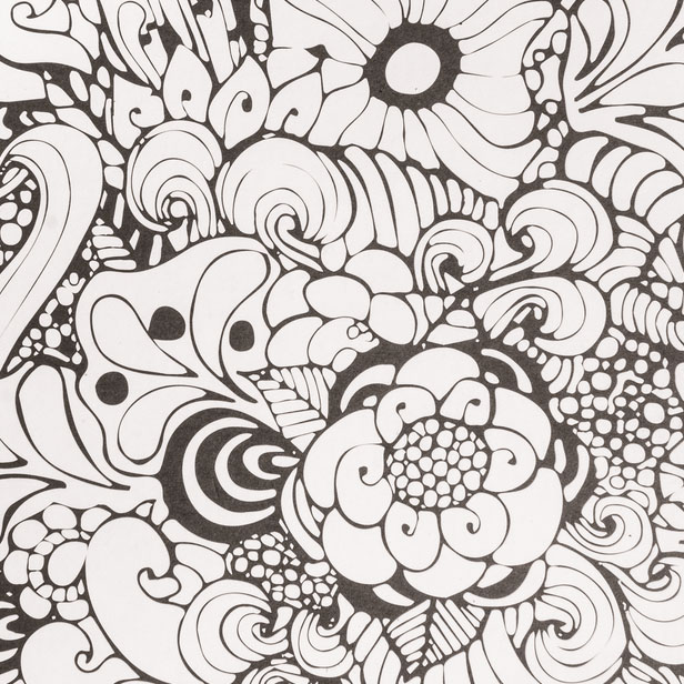Dessin Zentangle