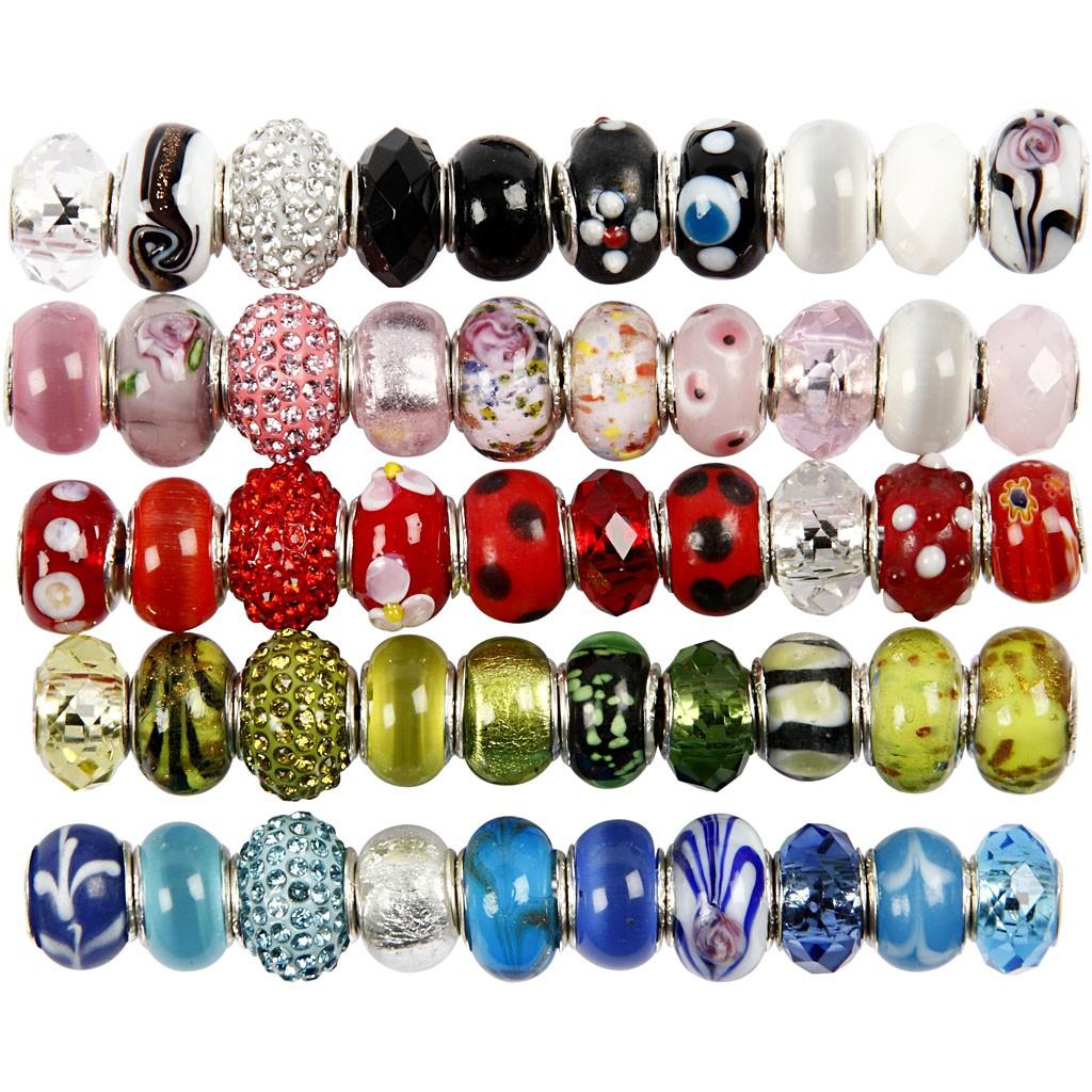 Perles à grand trou