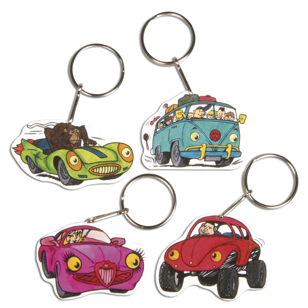 Porte-clés acryliques