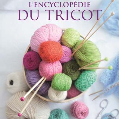 Livre sur le tricot et la laine