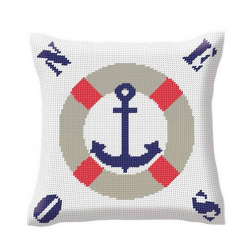 Coussin demi-point