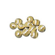 Perles dorées, argentées