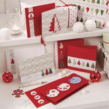 Carterie et papier de Noël