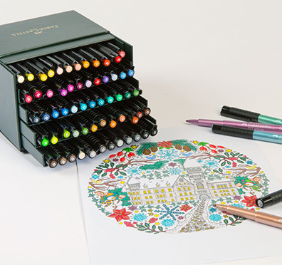 Coloriage Adulte Materiel