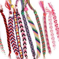 Fils et appareils de tissage de bracelets brésiliens