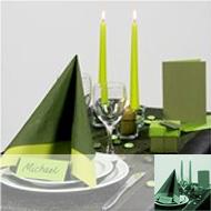 Table & Style vert foncé