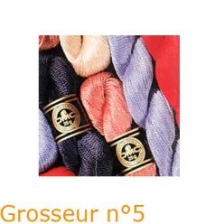 lot de 4 echeveaux de coton perle dmc special hardanger art 115ea n5 25g