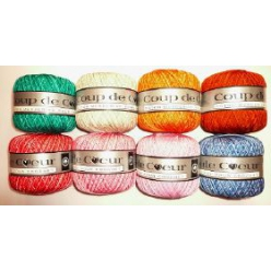 coton couleurs degradees coup de coeur boite de 6pc