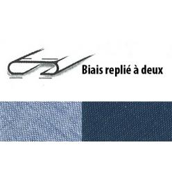 biais jean en 80 coton 20 polyester 25m