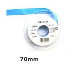 25m de ruban taffetas uni en 70 mm