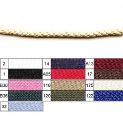 cordon pour anorak coton 4mm x50 metres